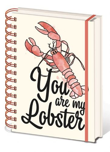 Friends - You Are My Lobster  A5 Notebook